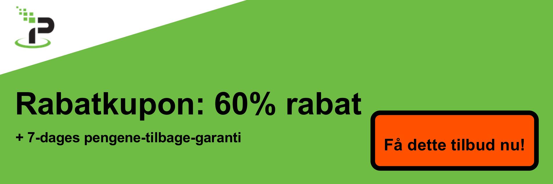IPVanish kuponbanner - 60% rabat