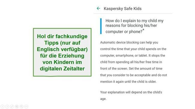 Safe Kids Erziehungsberatung