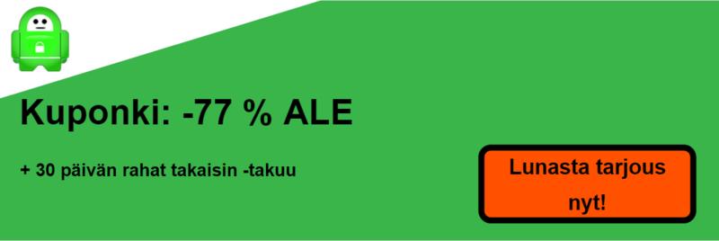 pia vpn kuponki banneri 77% pois