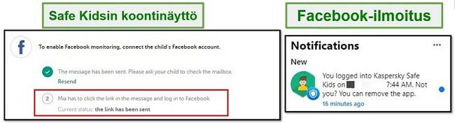 Turvalliset lapset Facebook