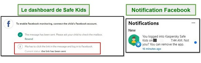 Facebook pour Safe Kids