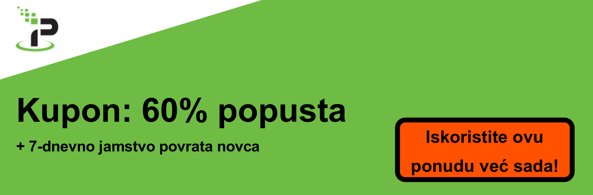 IPVanish kupon banner - 60% popusta