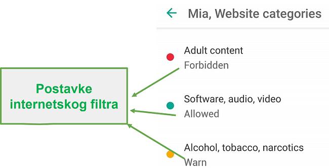 Sigurna djeca prilagođavaju web filtre