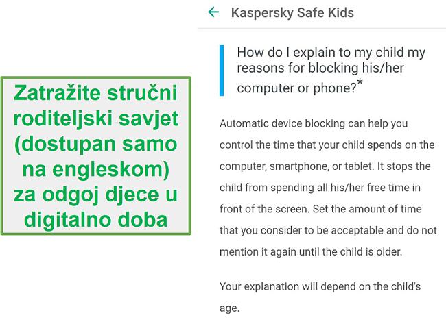 Roditeljski savjeti za sigurnu djecu