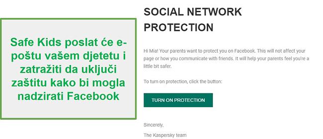Praćenje društvenih mreža Safe Kids