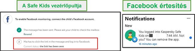 Biztonságos gyerekek Facebook
