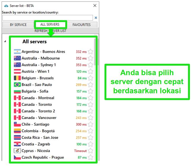 Tangkapan layar kupon PrivateVPN yang mengiklankan jaminan uang kembali sebagai