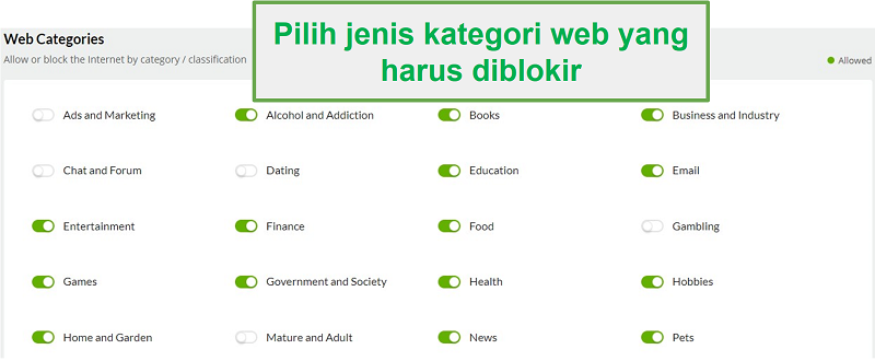 Kategori web Mobiicip