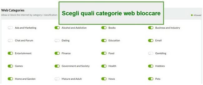 Categorie web Mobiicip