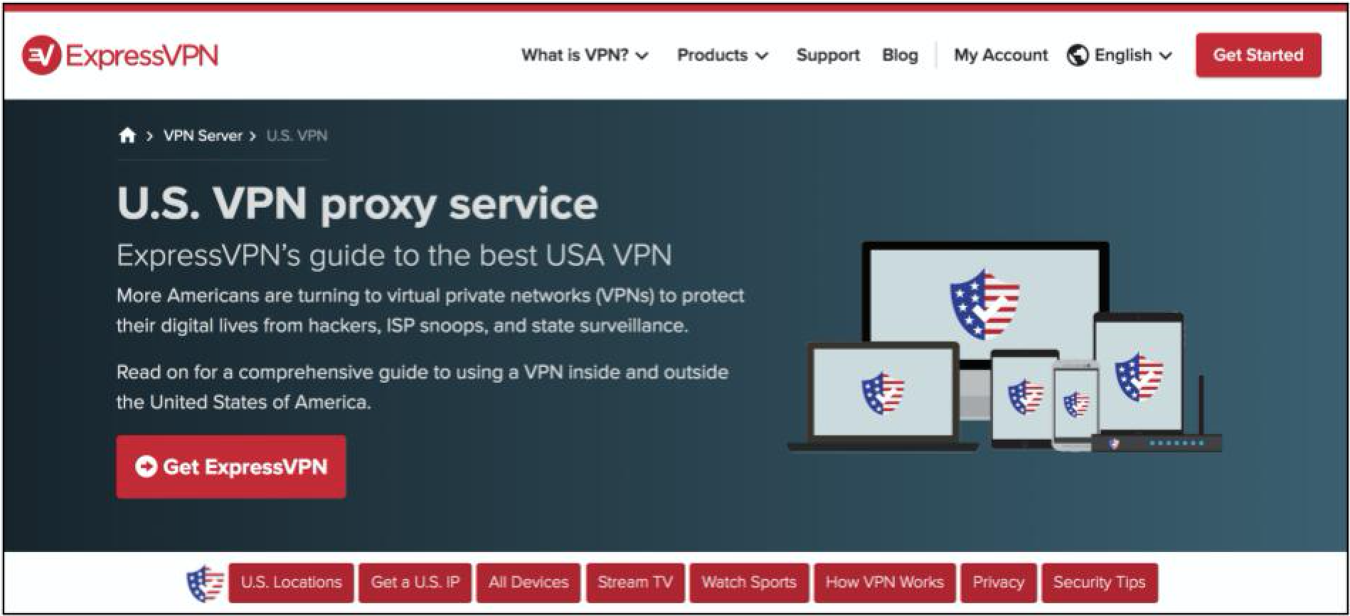 Screenshot of ExpressVPN's vendor welcome page for its US VPN service with product information and purchasing links. Reply... Caley Mikesell Caley Mikesell 7:43 PM Mar 31 Affiliate link: ExpressVPN Deeplink: Free Trial Alt text: Screenshot of ExpressVPN connected to US server and allowing user to access Bank of America account. Caley Mikesell Caley Mikesell 4:40 PM Mar 26 affiliate link nordvpn Toggle screen reader support panel 1 by 1