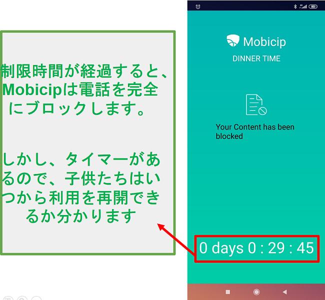 Mobicipはデバイスをブロックします
