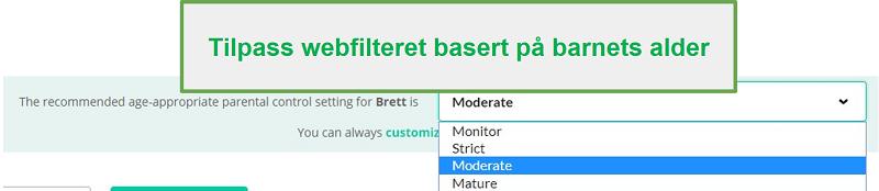 Mobicip filteralternativer