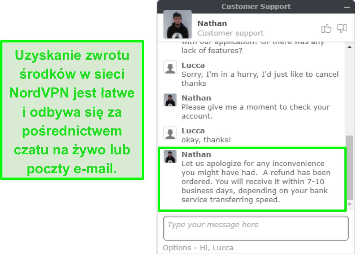 najlepsze VPN windows nordvpn czat zwrotu kosztów obsługi klienta