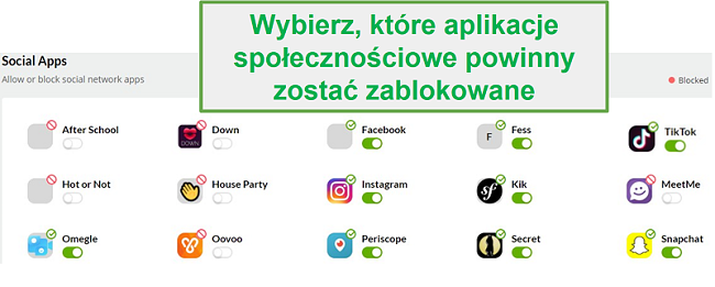 Monitorowanie mediów społecznościowych Mobicip