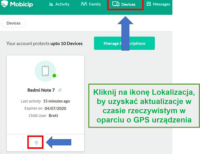 Lokalizacja Mobiicip