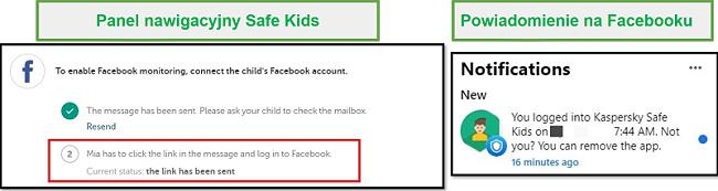 Facebook dla Safe Kids
