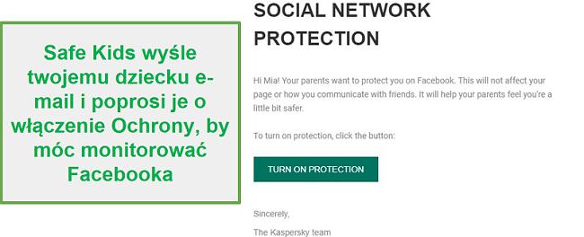 Monitorowanie mediów społecznościowych Safe Kids