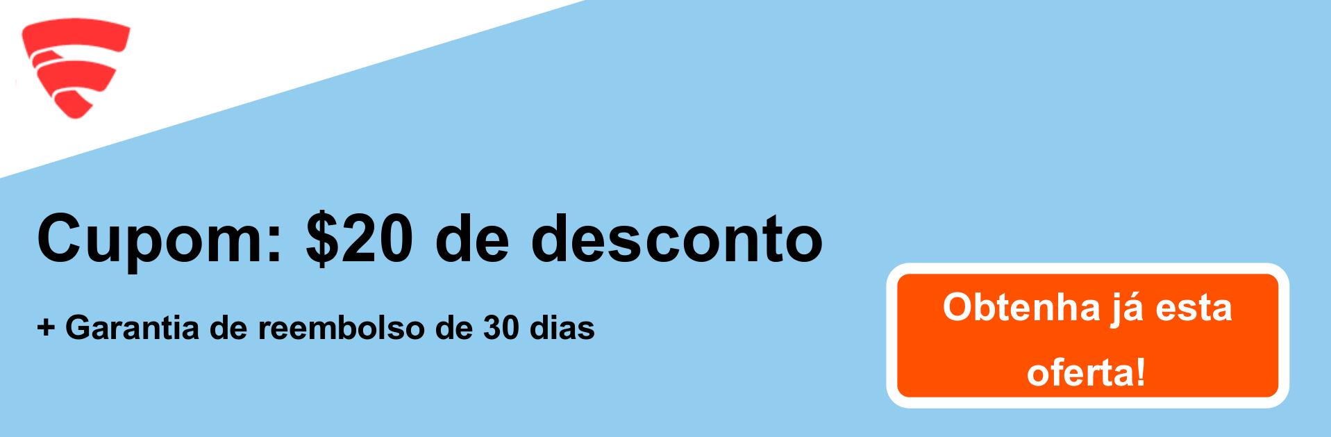 Cupom FSecureFreedome - US $ 20 de desconto