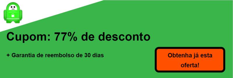 pia VPN banner cupão 77% de desconto
