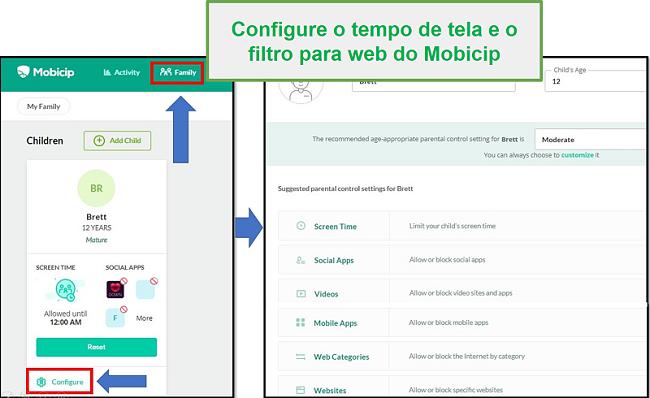 mobicip criou um filtro web