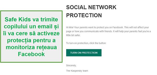 Monitorizarea rețelelor sociale Safe Kids