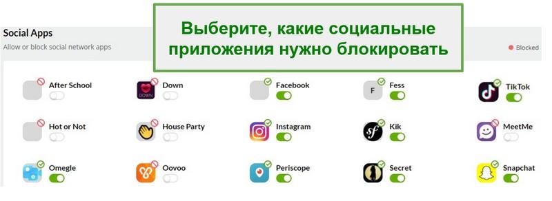 Mobicip мониторинг социальных сетей