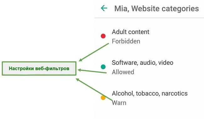 Safe Kids адаптирует веб-фильтры