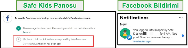 Facebook Güvenli Çocukları dökün