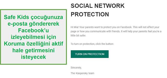 Safe Kids sosyal medya izleme