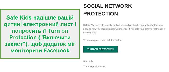 Моніторинг соціальних мереж Safe Kids