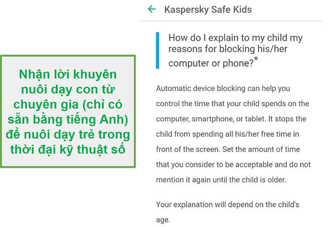 Lời khuyên nuôi dạy trẻ an toàn