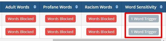 1 word filter SentryPC