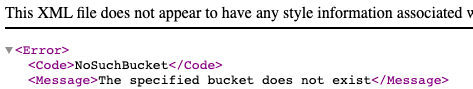 When approached, the subdomain generated