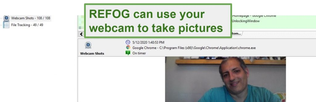 REFOG webcam