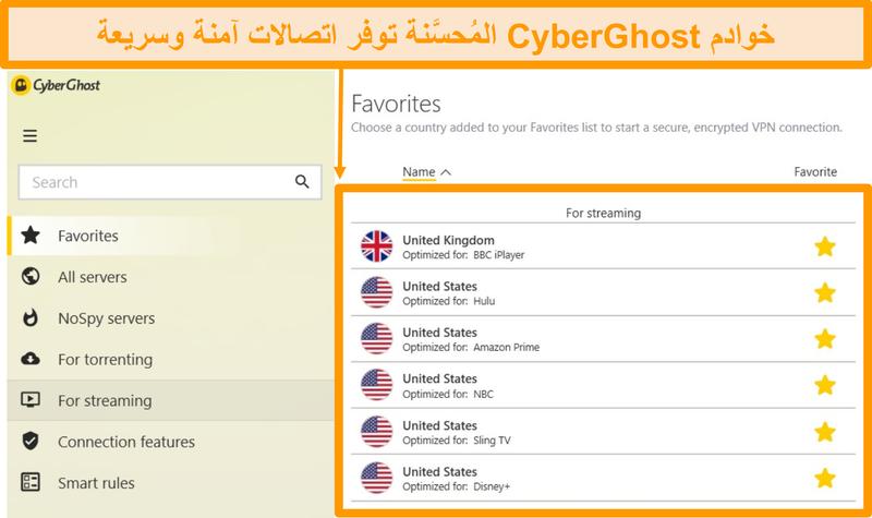 ﺔﻨﺴﺤﻤﻟﺍ CyberGhost ﻡﺩﺍﻮﺧ ﺓﺪﻫﺎﺸﻣ ﺔﻴﻔﻴﻜﻟ ﺔﺷﺎﺷ ﺔﻄﻘﻟ