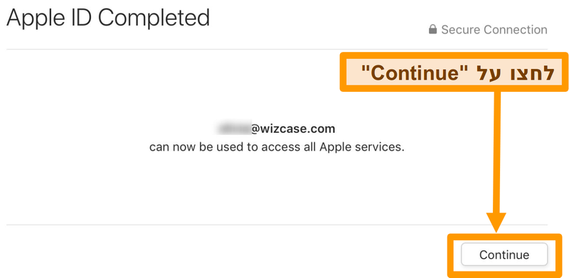 .App Store רובע םושירה לפא ההזמ תמלשה לש ךסמ םוליצ