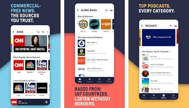 Tunein Radio Banner