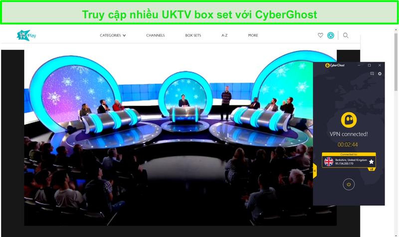 Ảnh chụp màn hình của CyberGhost bỏ chặn tôi có nói dối với bạn? trên UKTV
