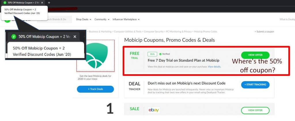 Mobicip fake deals