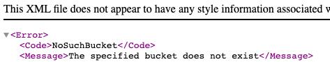 Screenshot of XML file