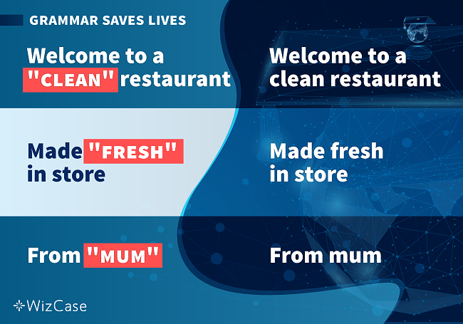 Grammar Saves Lives