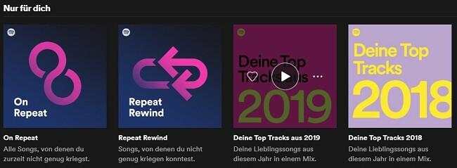 Spotify Einzigartig bei Ihnen