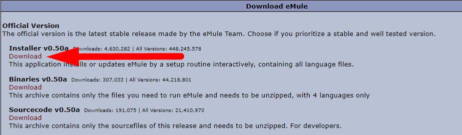 Download eMule