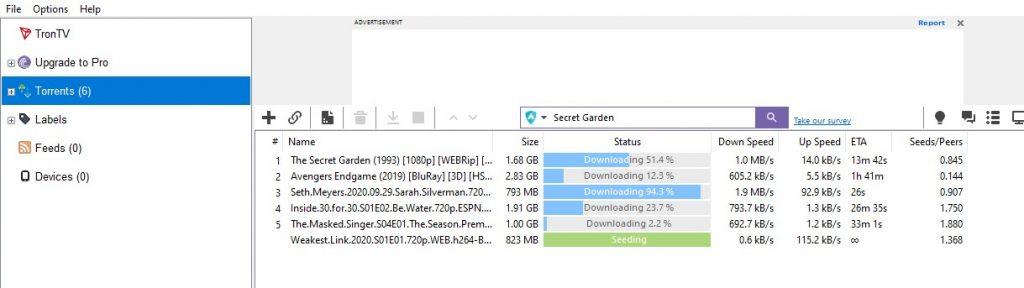 Download with BitTorrent