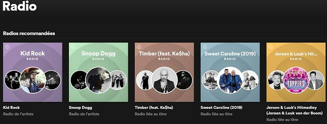 Radio Spotify