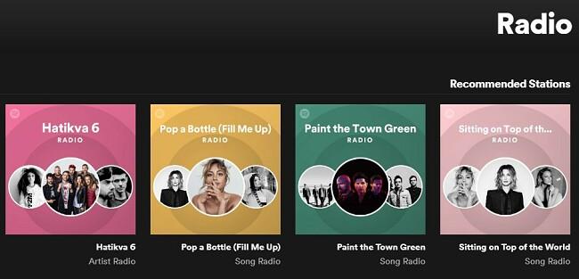 רדיו Spotify