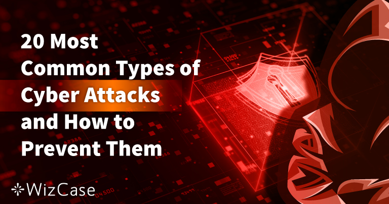 20 Most Common Types of Cyber Attacks and How to Prevent Them
