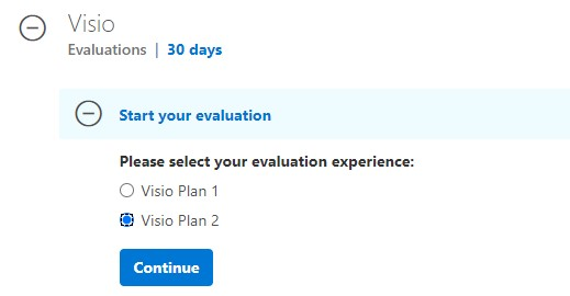 Choose your Visio Plan