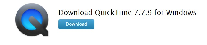 Download QuickTime for Windows