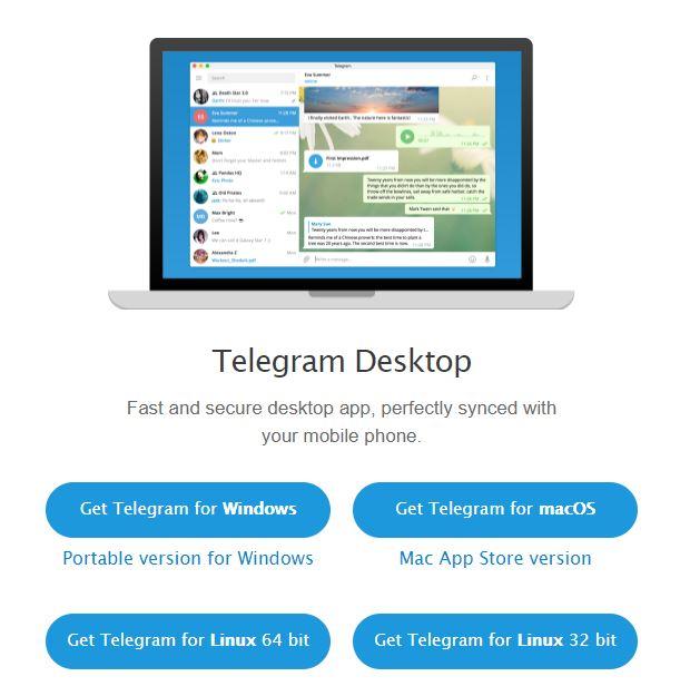 Download Telegram for Desktop